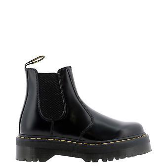 Dr. Martens Dms2976qbsm24687001 Heren's Black Leather Enkellaarsjes