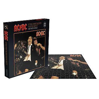 AC / DC Puzzel Als je wilt Blood Album Cover nieuwe officiële 500 Stuk