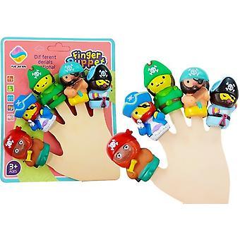 Finger puder Pirater 5 st