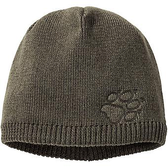 Jack Wolfskin Mens Stormlock Paw Windproof Knitted Hat