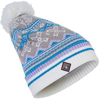 Spyder BELLA Naisten neule Bommel Winter Ski Hat multi
