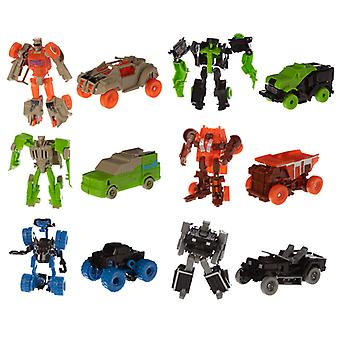 Fun Kids Robot Transformable Cars X 1 Pack