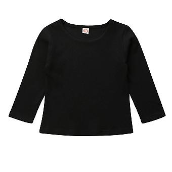 Long Sleeve Casual Cotton Pullover Tops