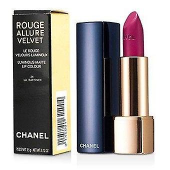 Rouge Allure Velvet - # 34 La Raffinee 3.5g or 0.12oz