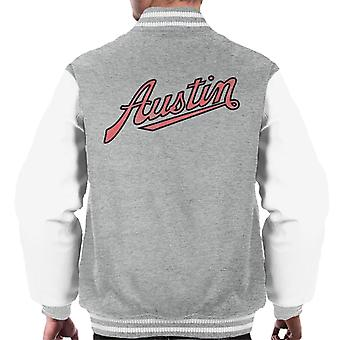 Austin Vintage Logo British Motor Heritage Men's Varsity Jacket