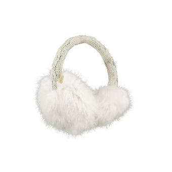 بارتس الفراء Earmuffs-أبيض
