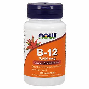 Agora alimentos Vitamina B-12, 5000 mcg, 60 Abas