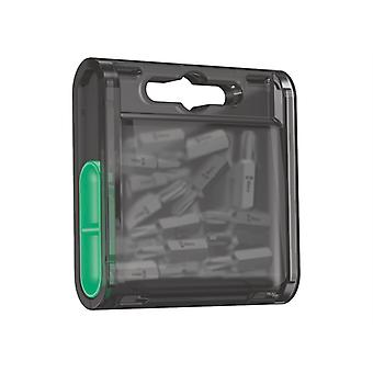 Wera Bit-Box 20 Drywall Tough Bits PH2 Drywall x 25mm 20 Piece WER057753