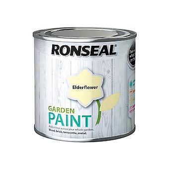 Ronseal Garden Paint Elderflower 250ml RSLGPEF250