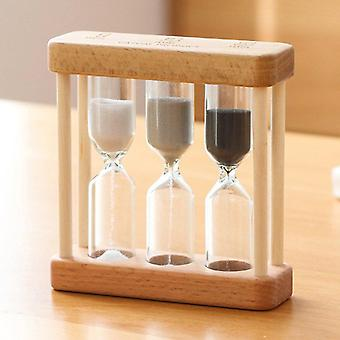 Kreative 1/3/5 Minute Holz Sandglas, Timer Uhr Home Decor für Childern