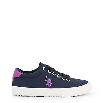 Us polo assn. 4262s0 women's synthetic fabric sneakers
