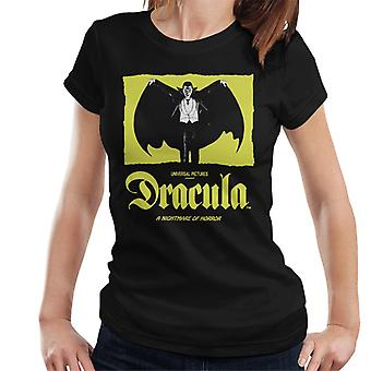 Dracula Nightmare Of Horror Women's T-Shirt