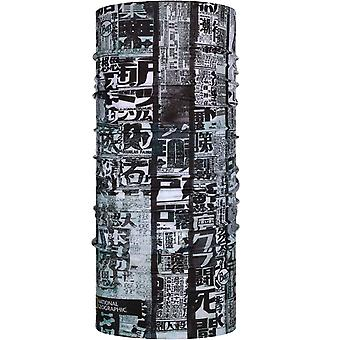Buff Adults National Geographic Outdoor Protective Tubular Scarf - Osu Grey