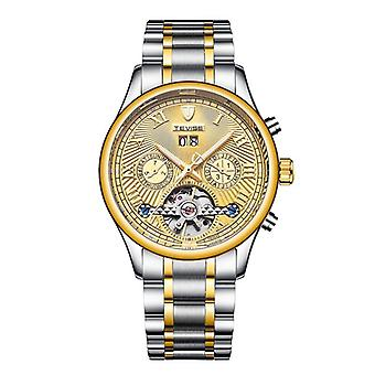 TEVISE 806 Military Wind Male Wristwatch Automatic Stainless Steel Luminous