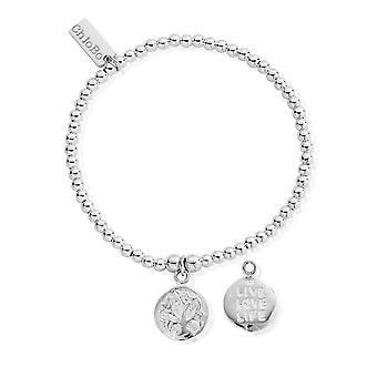 ChloBo Cute Charm Live Love Life Bracelet SBCC215