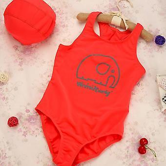 New Summer Bikini Lovely Child Beachwear Backless Kids/girls Bathing Suits
