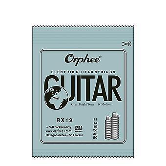 Beoefend vergulde steel gitaar snaren voor elektrische gitaar met originele