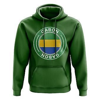 Gabon fotball badge hettegenser (grønn)