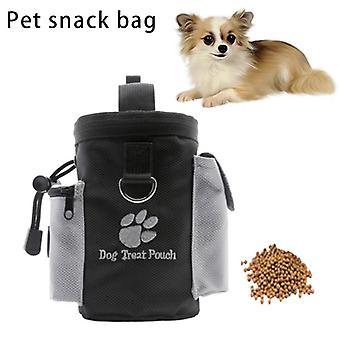 الحيوانات الأليفة الكلب تدريب حقيبة المحمولة علاج وجبة خفيفة الطعم الكلاب الطاعة أجيليتي في الهواء الطلق
