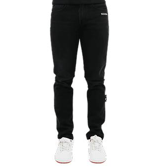 OFF WHITE Slim Jeans Black OMYA011E20DEN0011001 Pants