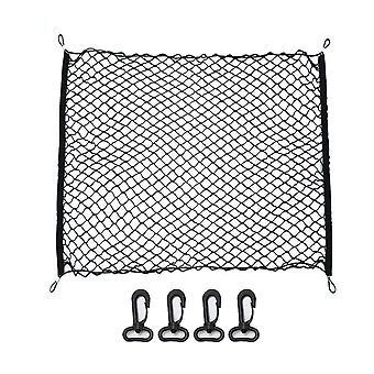 Car Trunk Net, Elastic Luggage Cargo Organizer, Stretchable Interior Mesh,