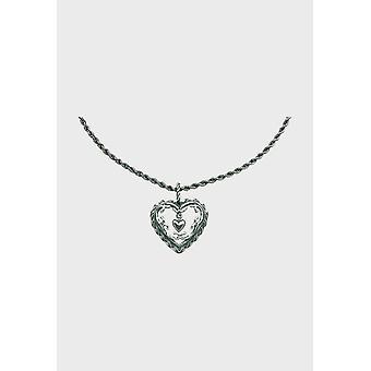 Kalevala قلادة قابل للتعديل 42/45cm قلب البيت الفضي 2265000