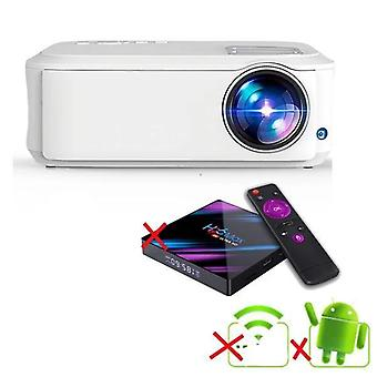 4k Full Hd, Android 10.0, Wifi Smart Led-portable Projector