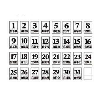 Silica Gel Date Stamp Greetings Seal For Photo Album Paper Craft Decorative