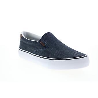 Lugz Bandit  Mens Blue Canvas Lifestyle Sneakers Shoes