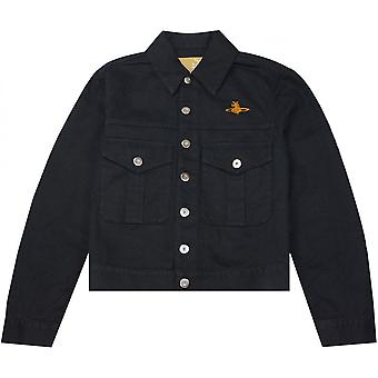Vivienne Westwood chaqueta de mezclilla negra