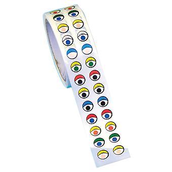 Creative Sticker Roll, Eyes, Multicolor