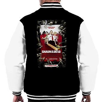 Shaun of the Dead Theatrical Poster Men's Varsity Jacket
