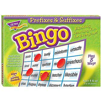 Gioco di Bingo di prefissi e suffissi