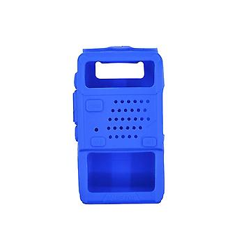 Holster Silicone Handheld Cover Shell For Baofeng Two Way Mobile Radio Uv5r 5ra