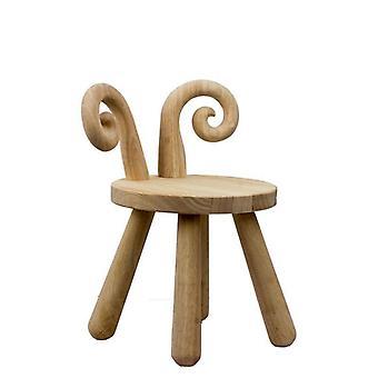 Children's Stool Cartoon Deer Bench Kindergarten Baby Table Chair Kit
