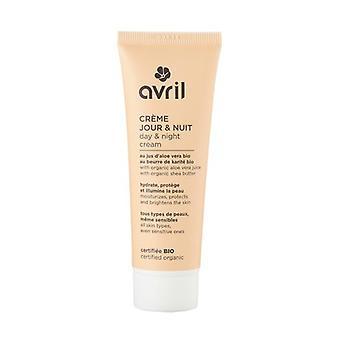 Day and night cream - certified organic 50 ml of cream