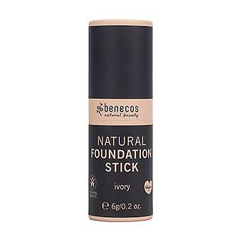 Ivory foundation stick 1 unit