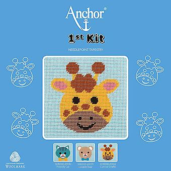 Anchor Cross Stitch Kit: 1st Kit: Best Friends: Curious Giraffe
