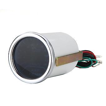 """2"""" 52Mm egt exhaust gas temp gauge meter white led car motor universal smoke lens indicator"""