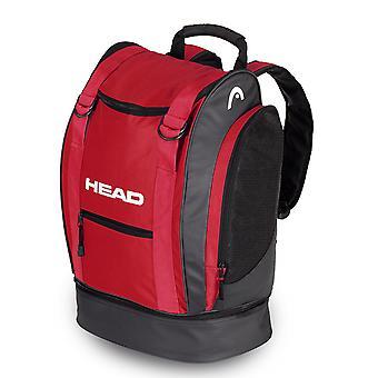 Tour de tête sac à dos 40 rouge / noir