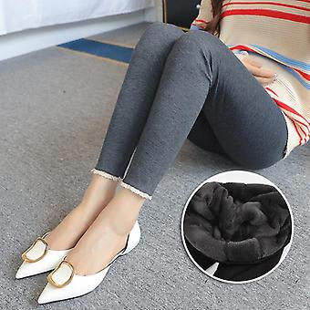 Autumn Winter Women Maternity Clothes Winter Leggings Thickened With Velvet