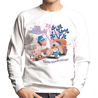 The Magic Roundabout Ermintrude & Dougal Hello Handsome Men's Sweatshirt