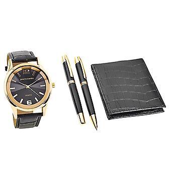 Pierre Cardin PCX7870EMI Cadeauset Horloge & Portemonnee & Pen
