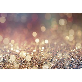 Laeacco Fantasy Glitter Star Polka, Party Baby Photography