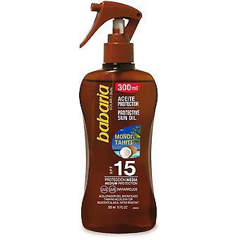 Babaria Gun oil Sunscreen monoi tahiti F15 300 ml