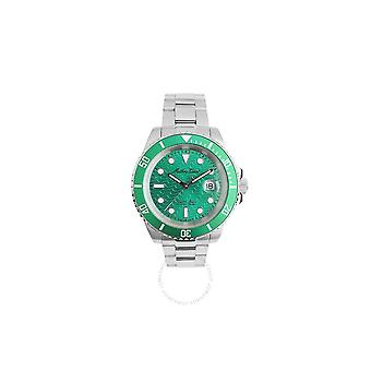 Mathey-Tissot Sea Quartz Green Dial Men's Watch H906ZAV