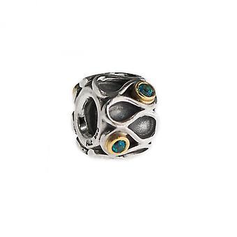 Pandora Silver Infinity Charm 790366TPP