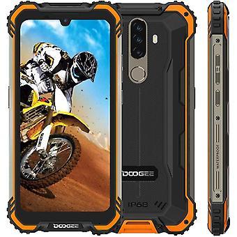 DOOGEE S58 PRO Outdoor Smartphone Ohne Vertrag, IP68 Wasserdicht Stofest Android 10, 5180mAh, 6GB