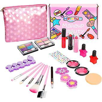 Wokex Make-up Set fr Kinder, Kinderschminke Set Mdchen, 21 Stuck Waschbar Kinderschminke Set mit