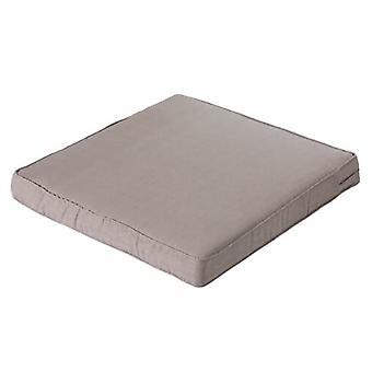 travesseiro lounge Básico 60 x 60 x 8 cm Polycotton taupe